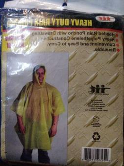 1 Illinois Industrial Heavy Duty PVC Rain Poncho Rain Coat O