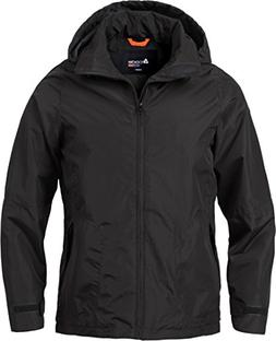 Acode 111825 Shell Rain Jacket Black S