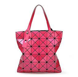15 Colors Women Geometry Bao Tote Shimmer Handbag Diamond La