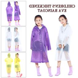 1pc Cute EVA Children's Raincoat Mantle Emergency Waterproof