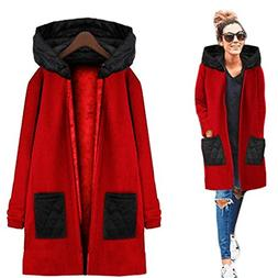 2017 Hot Sale Women Fashion Long Sleeve Hooded Casual Trench