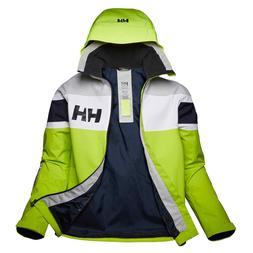 2020 Helly Hansen Salt Flag Jacket - Azid Lime - 33909 Mediu