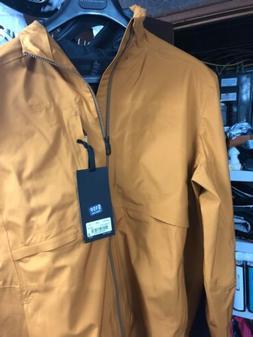 Lululemon XL Mens Camel Brown Storm Parka Rain Coat Jacket H