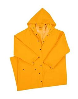 """West Chester 4160 4XL 35 mil PVC Polyester Rider Coat, 60"""","""