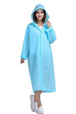 ANBOVER Unisex Portable Eva Raincoat Poncho Fashion Hooded L