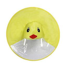 Birdfly Unisex Kids Cartoon Duck Movement Umbrella Hat Magic