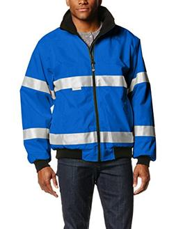 Charles River Apparel Men's Signal Hi-Vis Waterproof Jacket