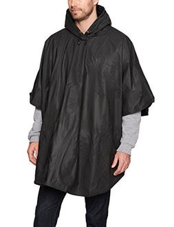Charles River Apparel Unisex-Adults Cyclone Eva Poncho, Blac