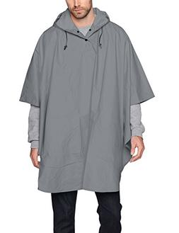 Charles River Apparel Unisex-Adults Pacific Poncho, Grey, On