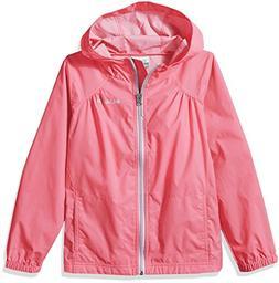 Columbia Big Girl's Switchback Rain Jacket, Lollipop, XL