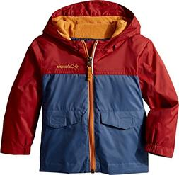 Columbia Kids Baby Boy's Rain-Zilla¿ Jacket  Dark Mountain/