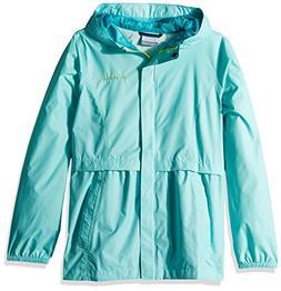 Columbia Little Girls' Pardon My Trench Rain Jacket, Candy M