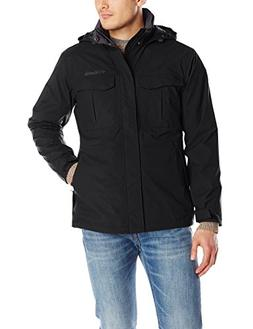 Columbia Men's Dr. Downpour Rain Jacket, Black, Medium
