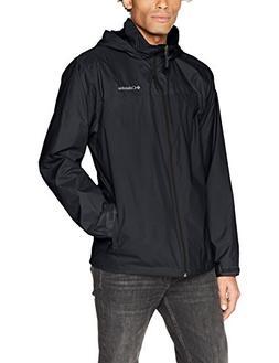 Columbia Men's Glennaker Lake Lined Rain Jacket, Black, L