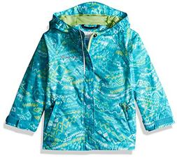 Columbia Kids' Toddler Fast and Curious Rain Jacket, Geyser