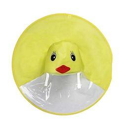 Deesee RaincoatRain Coat UFO Children Umbrella Hat Magical H