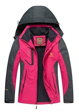 Diamond Candy Rain Jacket Women Hooded Lightweight Softshell
