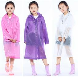 co kids children rainwear waterproof hooded rain