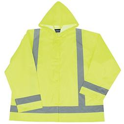 ERB - 61498 Class 3 Rainjacket - Lime - 5X - Large / 6X - La