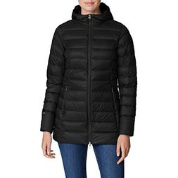 Eddie Bauer Women's CirrusLite 2.0 Down Parka, Black Regular