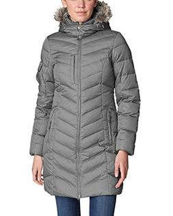 Eddie Bauer Women's Sun Valley Down Parka, Cinder Regular S