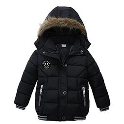 FEITONG Fashion Kids Coat Boys Girls Thick Coat Padded Winte