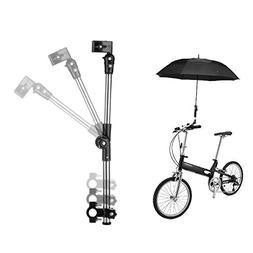 Flexzion Bicycle Umbrella Mount Holder Swivel Connector Hand
