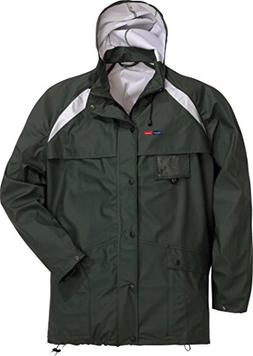 Fristads Kansas Workwear 100561 Rain Jacket Green S
