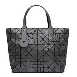Geometry Diamond Shoulder Bags Lattice Fold Bao Handbags Lad