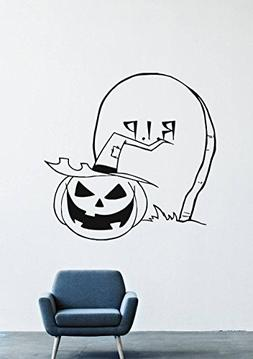 Halloween Wall Decals – Vinyl Halloween Stickers for Men K