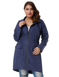 Hanna Nikole Lightweight Hooded Waterproof Active Outdoor Ra
