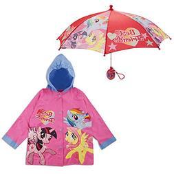 Hasbro Little Girls My Little Pony Best Friends Slicker Umbr