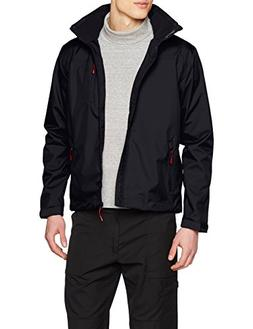 Helly Hansen Men's Crew Hooded Midlayer Jacket, Navy, Large