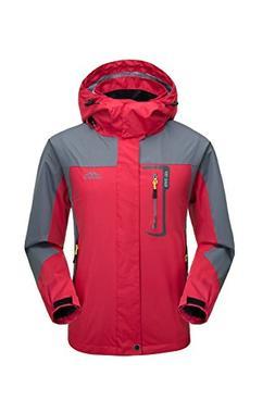KISCHERS Rain Jacket, Men's Waterproof Jackets Hood, Outdoor