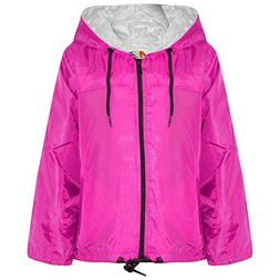 New Unisex Mens Womens Kids Girls Boys Plus Size Kagool Lightweight Rain Jacket