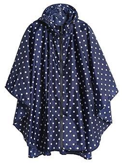LINENLUX Stylish Unisex Hooded Waterproof Raincoat with Zipp