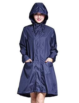 LOHASCASA Women's and Big Gril's Waterproof Raincoat Lightwe