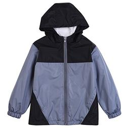 LZH Baby Boys Waterproof Raincoat Jacket Spring Autumn Outer
