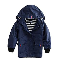 M2C Boys Raincoat Hooded Jacket Outdoor Light Windbreaker 6/