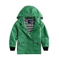 M2C Boys Raincoat Hooded Jacket Outdoor Light Windbreaker 7/