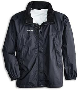 Marmot PreCip Boys' Lightweight Waterproof Rain Jacket, Blac