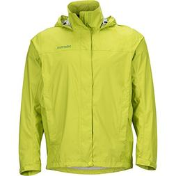 Marmot Men's PreCip Rain Jacket - Bright Lime, Small