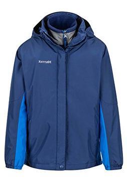Marmot Northshore Boys' Waterproof Hooded Rain Jacket with R