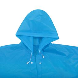 Men Women Unisex Raincoat Rain Jacket EVA Rain Coat Wind Wat