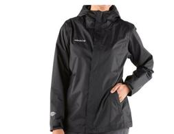 NWT COLUMBIA WOMEN'S ARCADIA II RAIN JACKET BLACK PLUS SIZE,