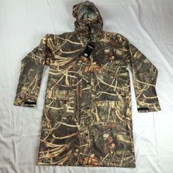 New $130 S M L XL 4XL Helly Hansen Camo Long Rain Coat Jacke