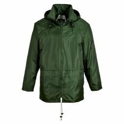 PORTWEST O GR CLASSIC RAIN JACKET WATERPROOF DURABLE SEALED