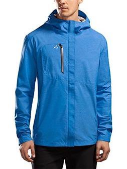 Paradox Men's Waterproof Breathable Rain Jacket Large Cobalt
