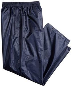 Portwest S441 Rainwear Men's Waterproof Rain Pants, 4X-Large