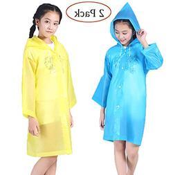Raincoat Rain Poncho Jacket Slicker Outwear for ChildrenEmer